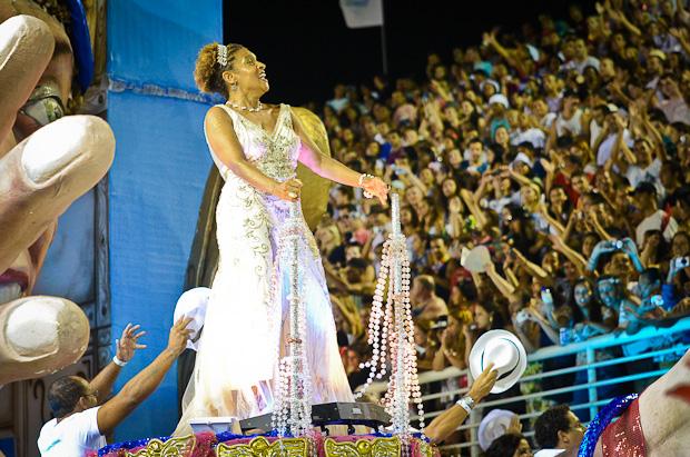 Elisa Lucinda foi a homenageada da Boa Vista (Foto: Weliton Aiolfi/ G1ES)