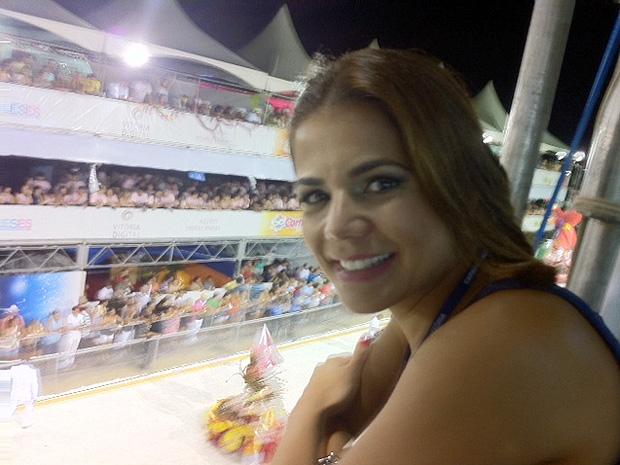 Nívea Stelman disse que, se receber convite, pode voltar para desfilar nos próximos carnavais (Foto: Amanda Monteiro/G1 ES)