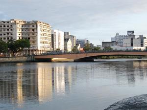 Ponte Duarte Coelho recebe o Galo da Madrugada na próxima quarta-feira (15). (Foto: G1PE)