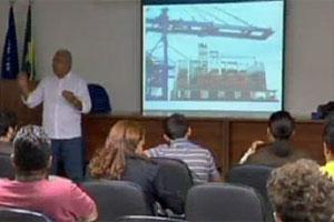 apresentação corporativa (Foto: TV Globo/Reprodução)