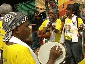 Mais de 50 grupos da região se reuniram em Uberaba (Foto: Reprodução/TV Integração)