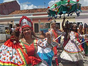 O maracatu Nação Maracambuco vai participar da celebração (Foto: Divulgação)