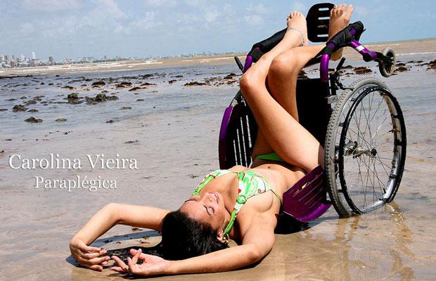 Carolina Vieira, uma das modelos da agência de Kica (Foto: Kica de Castro/Divulgação)