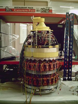 EcoBot 3 pode ser usado para limpar poluição (Foto: Laboratório de Robótica da Universidade de Bristol/BBC)