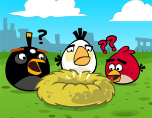 P&#225;ssaros furiosos de 'Angry Birds' estreiam no Facebook (Foto: Reprodu&#231;&#227;o)