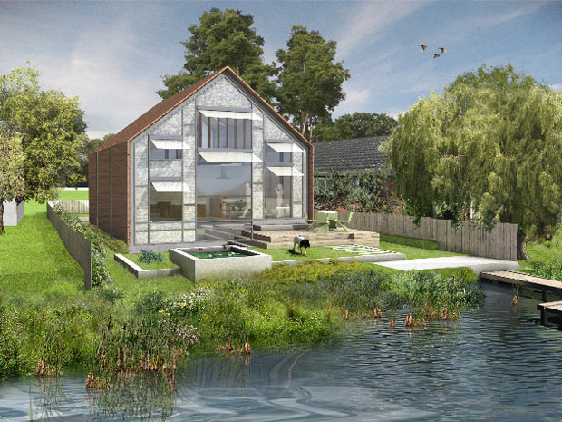Casa anfíbia (Foto: BBC)
