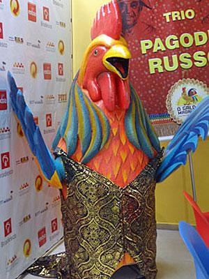 Boneco do Galo será novidade no desfile (Foto: Katherine Coutinho/G1)