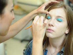Maquiagem 3D 1 (Foto: Raul Zito/G1)
