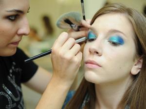 Maquiagem 3D 2 (Foto: Raul Zito/G1)