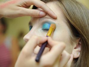Maquiagem 3D 5 (Foto: Raul Zito/G1)