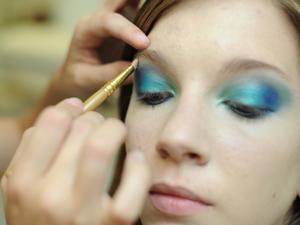 Maquiagem 3D 4 (Foto: Raul Zito/G1)