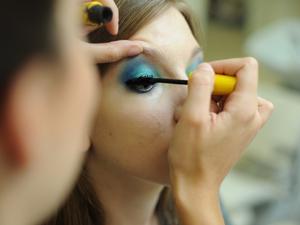 Maquiagem 3D 6 (Foto: Raul Zito/G1)
