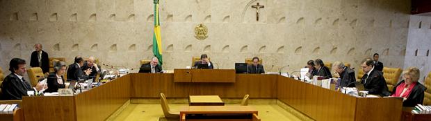 Entre os 11 ministros do STF, cinco já manifestaram seus votos sobre a Ficha Limpa, quatro a favor da aplicação da lei (Foto: Carlos Humberto/SCO/STF)