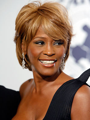 A cantora Whitney Houston (Foto: AP)