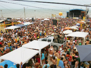 carnaval 2011 em majorlandia (Foto: Kid Jnior/Agncia Dirio)