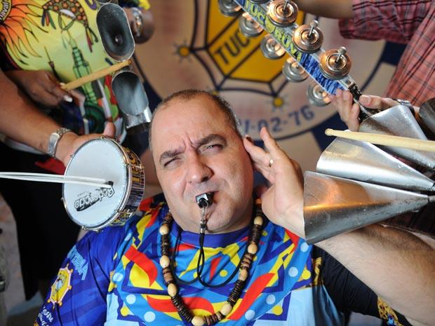 Mestre Adamastor (Foto: Raul Zito/G1)