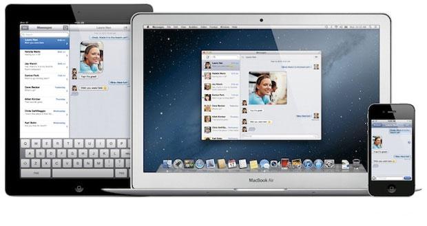 Novo Mac OS X, chamado de 'Mounain Lion' integra os Macs ao iPad e iPhone (Foto: Divulgação)