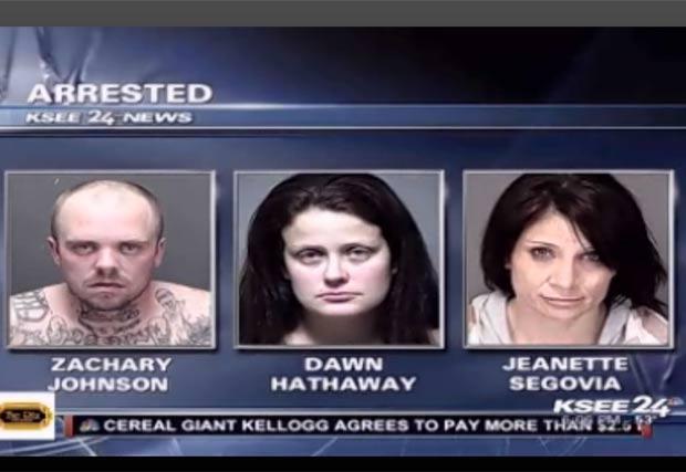 Zachary Johnson fugiu da cadeia para se encontrar com amante e mulher. (Foto: Reprodução)