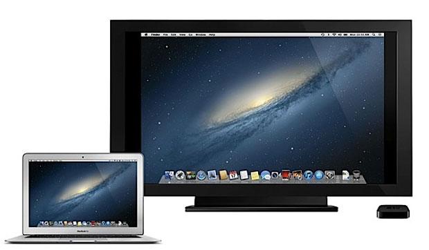 Novo sistema operacional permitirá visualizar área de trabalho do MAc na televisão por meio da Apple TV (Foto: Divulgação)