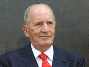 O ex-presidente do Supremo Tribunal Federal Maurício Corrêa, no Senado, em 2004 (Foto: José Cruz/ABr)