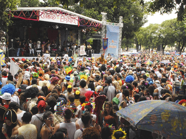 O primeiro Carnaval do bloco foi em 1997 (Foto: Arquivo Cordão do Boitatá)