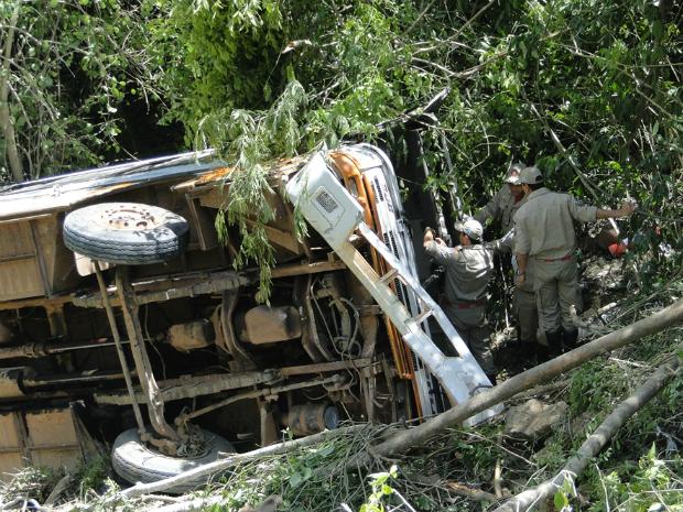 Acidente em Bodoquena deixa quatro mortos (Foto: Kaliny do Carmo/Aqui é Destaque)