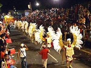 Escolas de samba de João Pessoa (PB) desfilam neste sábado (19) (Foto: Divulgação/PMJP)