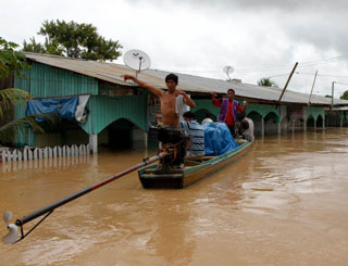 acre enchente (Foto: Gleilson Miranda/Secom-AC/Agência Acre)