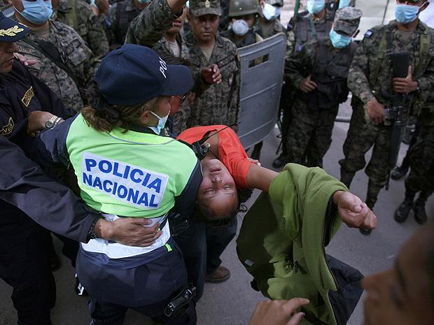 Tragédia Honduras (Foto: AP)