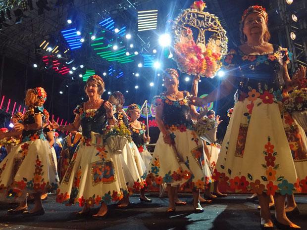 Bloco das Flores (Foto: Katherine Coutinho / G1 PE)
