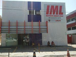 Instituto Médico Legal de Sergipe (Foto: Fredson Navarro/G1 SE)
