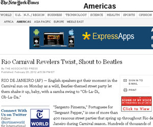 The New York Times (Foto: Reprodução)