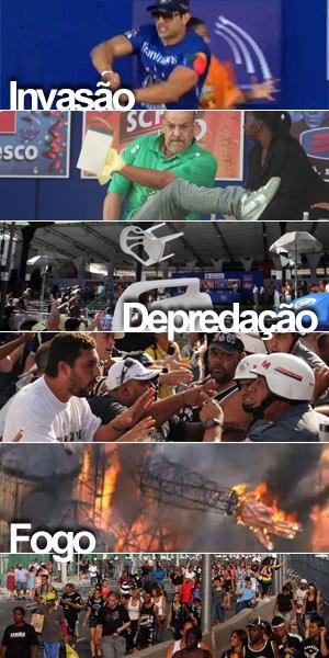 Vandalismo e depredação interrompem a apuração do carnaval de SP