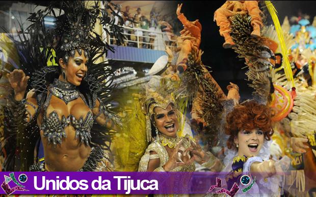 Desfile Unidos da Tijuca (Foto: Arte G1)