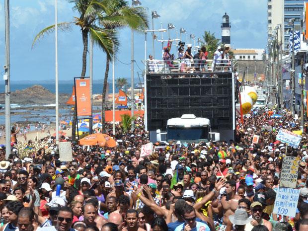 Arrastão  (Foto: Eduardo Freire/G1)