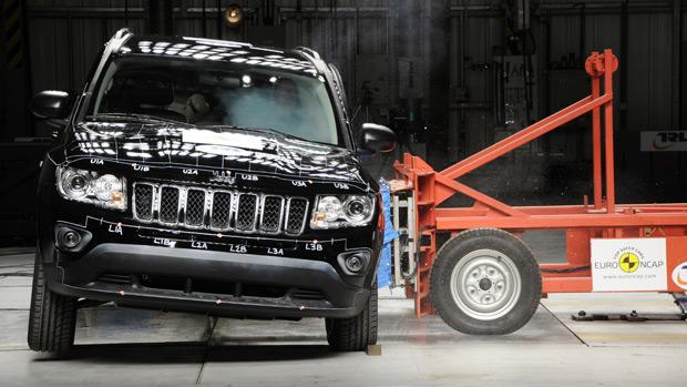 Jeep Compass vai mal em testes de impacto do Euro NCAP (Foto: Divulgação)