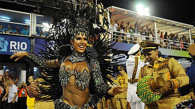 Veja a musa Gracyanne e mais fotos da Tijuca (Alexandre Durão/G1)