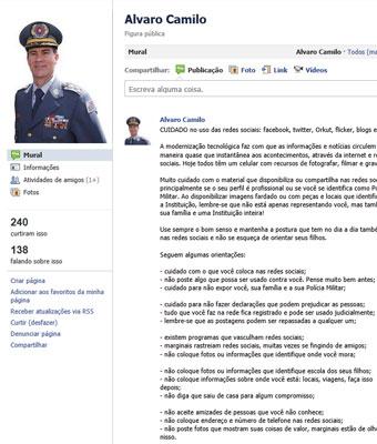 comandante pm regras (Foto: reprodução)