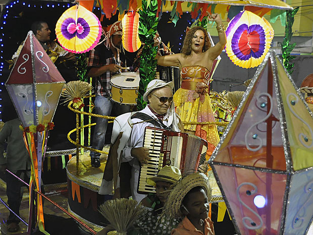 Gigantes do Samba (Foto: Antônio Tenório / Prefeitura do Recife)
