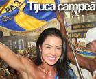 Unidos da Tijuca leva 3º título (Rodrigo Gorosito/G1)