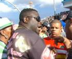 Diretores se reuniram antes da confusão (Reprodução/TV Globo)