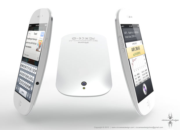 Parte traseira do aparelho parece ser de alumínio semelhante ao do MacBook Pro (Foto: Reprodução)
