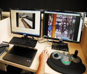 Central de Video-monitoramento de Sorocaba, SP (Foto: Divulgação)