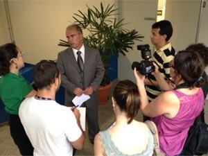 Alvaro Santucci Noventa Junior, delegado de Vinhedo (Foto: Marcelo Ferri/ EPTV)