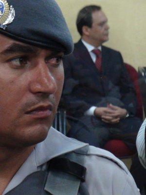 Sílvio Félix acompanha sessão de julgamento que resulta em seu impeachment (Foto: Lana Torres / G1)