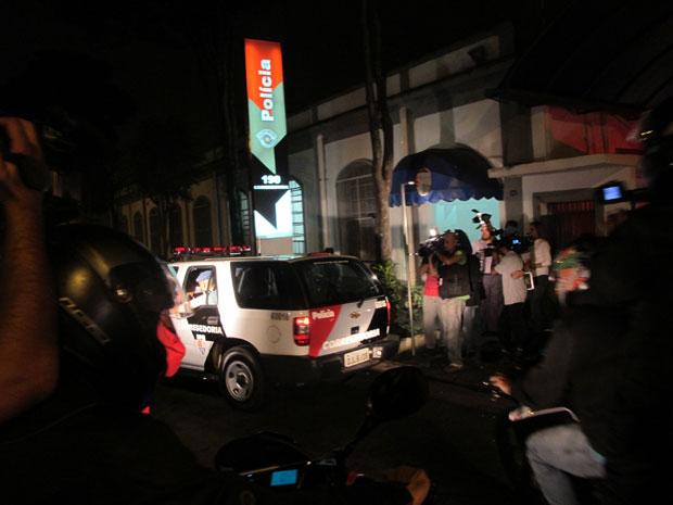 Mizael deixa Corregedoria da PM; ele ficará no presídio Romão Gomes aguardando julgamento (Foto: Márcio Pinho/G1)