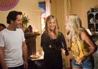 Paul Rudd, Jennifer Aniston e Malin Akerman em cena do filme 'Wanderlust' (Foto: Divulgação)