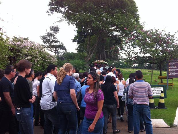 Cerimônia ocorreu em Guarulhos (Foto: Flávio Seixlack/G1)
