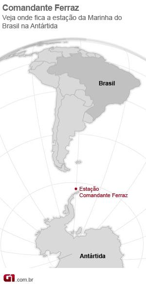 Mapa Comandante Ferraz (Foto: arte/G1)