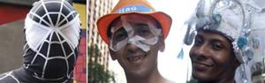 Monobloco faz despedida do carnaval 2012 (Ide Gomes/G1)